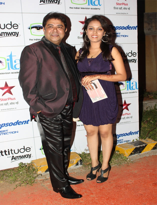 Ashiesh Roy with a friend