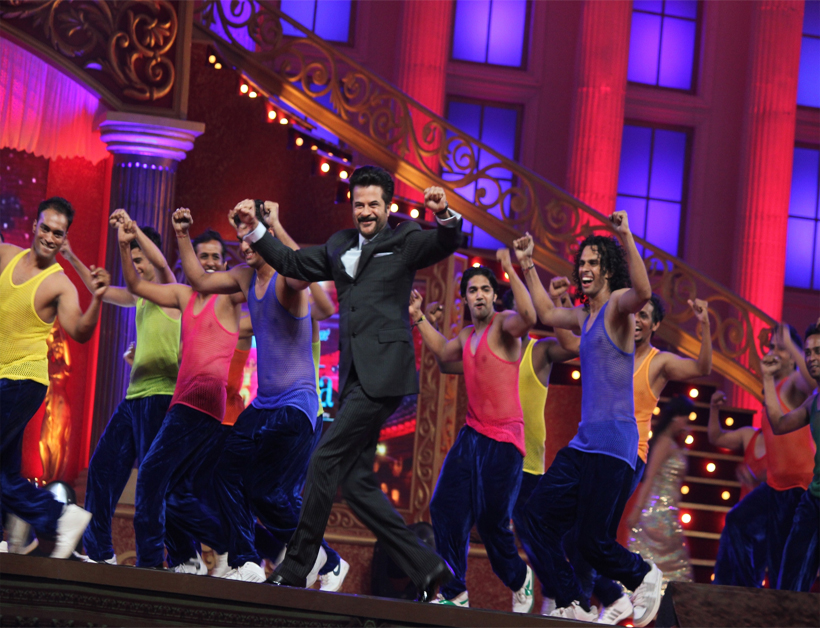 Anil Kapoor rocking the stage with his entry!