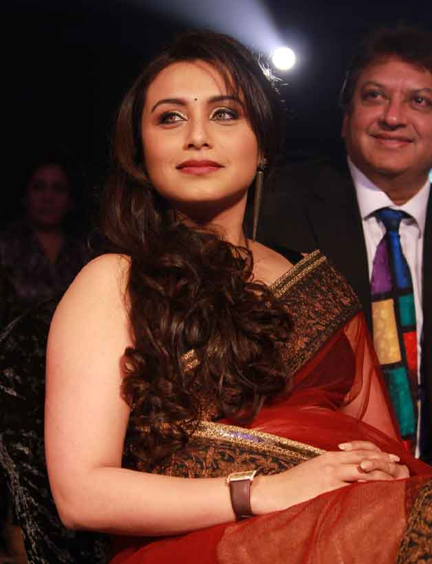 Rani Mukherjee with Shashi Ranjan