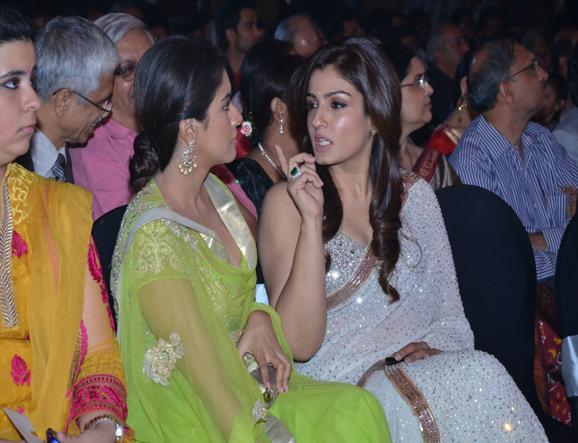 Asin with Raveena