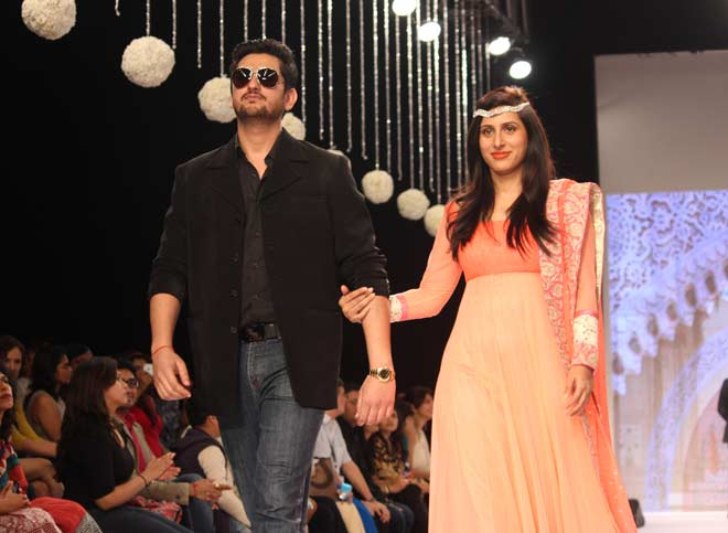 Shaad and Pooja Randhawa