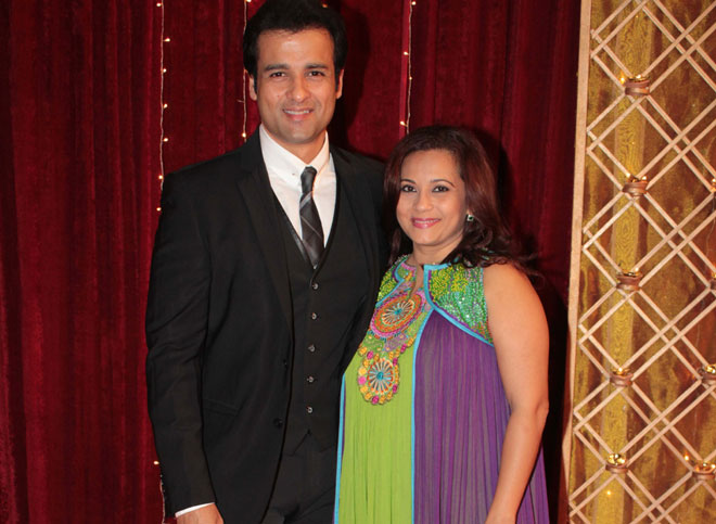 Rohit Roy and Manasi Joshi Roy