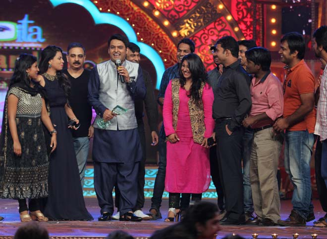 Comedy Nights with Kapil Team