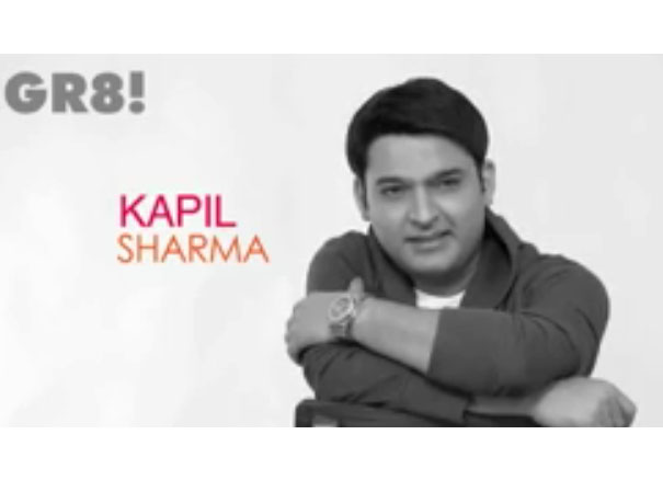 Comedy King Kapil -exclusive GR8 ! cover shoot