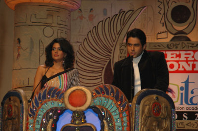 Anchors - Mandira Bedi and Aman Verma
