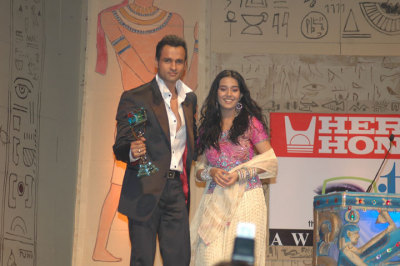 Amrita Rao and Rohit Roy