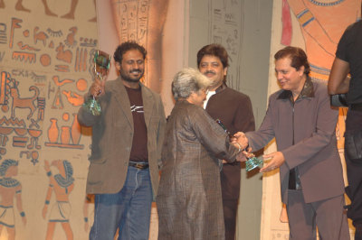 Best Director Drama Sunil Sukhtankar and Sumitra Bhave