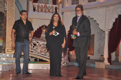 Nitin Vaidya (General Manager) Star Plus, Anu Ranjan (President, The ITA) to Amitabh Bachchan