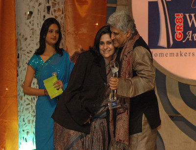 Teesta Setalvad with Javed Akhtar