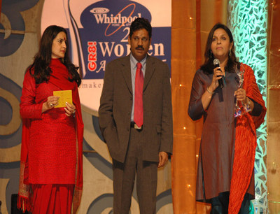 Kiran Chaudhry, Kirti Azad and Winner Sangeeta Reddy