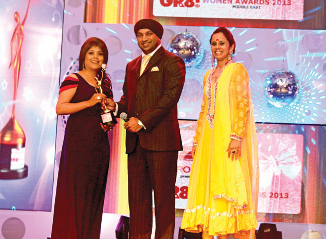 Mr. and Mrs. Kulwant Singh (Managing Director- Lama Group) to  Sabina khandwani