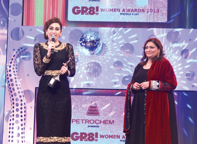 Falguni Mehta (Director- Petrochem- Middle East) to Karisma Kapoor