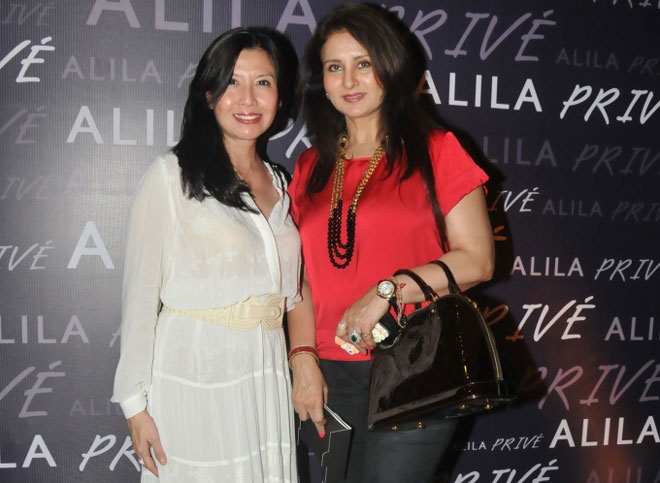 Doris Goh and Poonam Dhillon