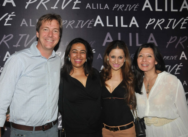 Frederic Flageat Simon, CEO, Alila Hotel & Resorts, Anu Ranjan, Roobal Nagi and Doris Goh