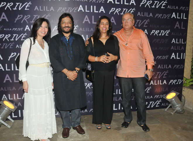 Doris Goh, Roop Kumar Rathod, Anu Ranjan and Tajdar Amrohi