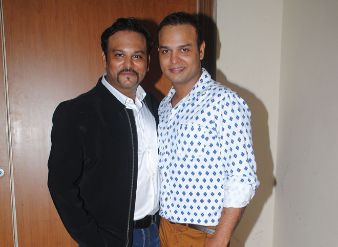 Producer Rahul Kumar Tewary and Siddharth Kumar Tewary