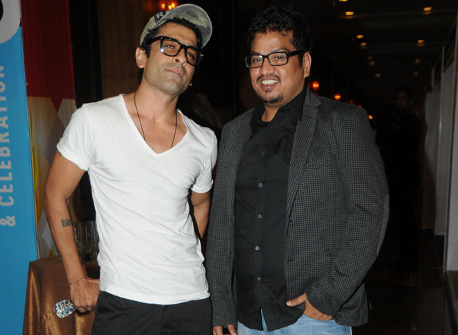 Ejaz Khan with Shakir Shaikh