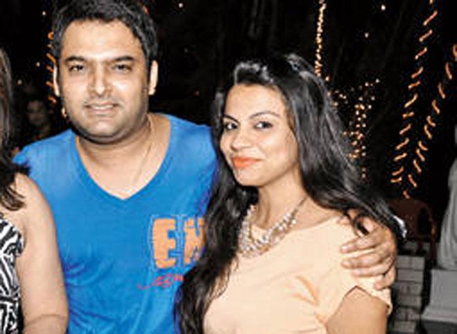Kapil Sharma with girlfriend Preeti Simoes