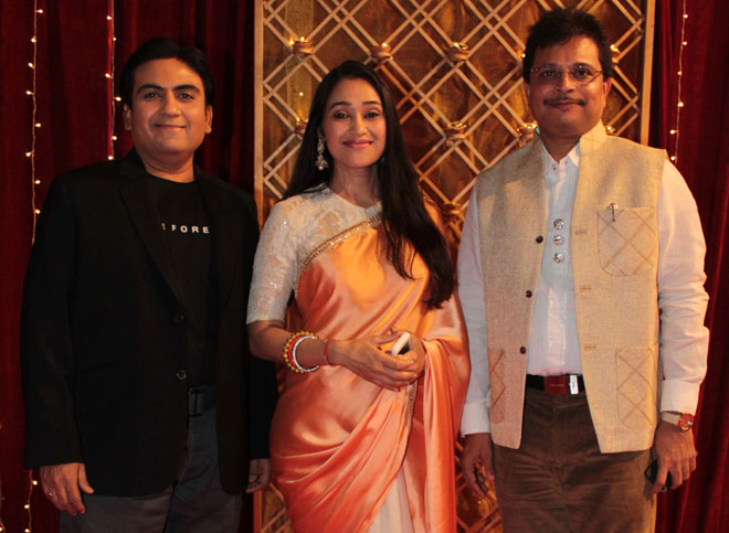 Dilip Joshi, Disha-Vakhani and Asit Modi