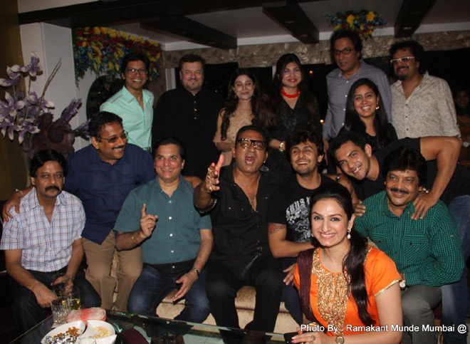 Entire bollywood musical gang