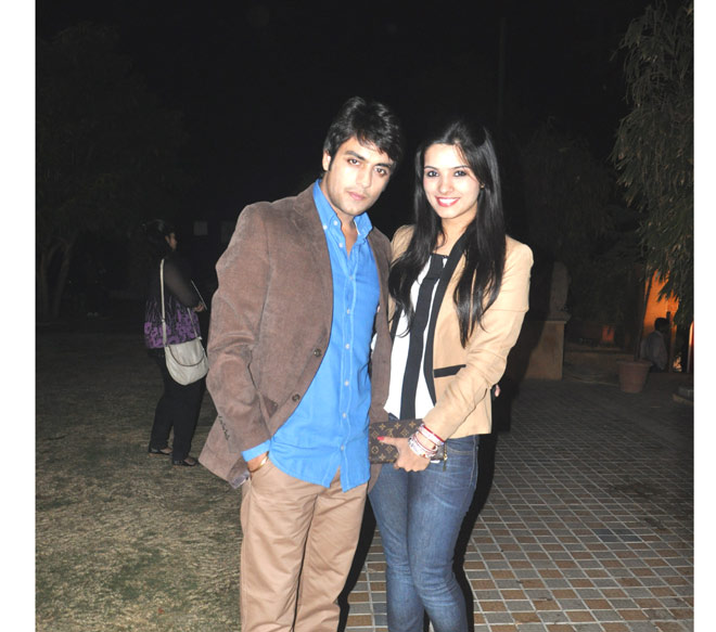 Gaurav Bajaj and wife