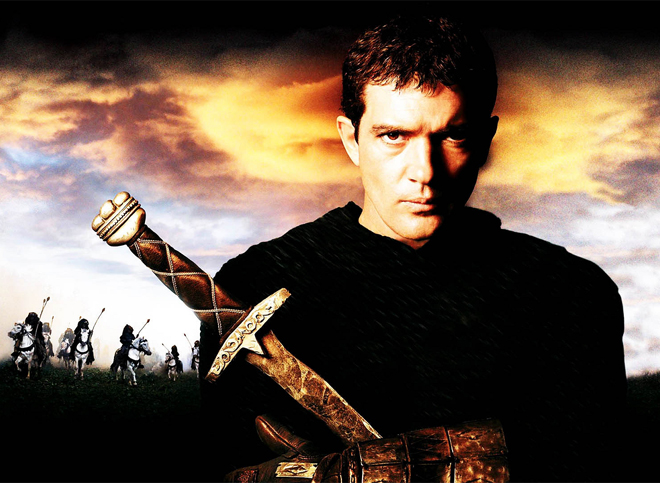 The critique of the 13th warrior movie and antonio banderas as the lead actor