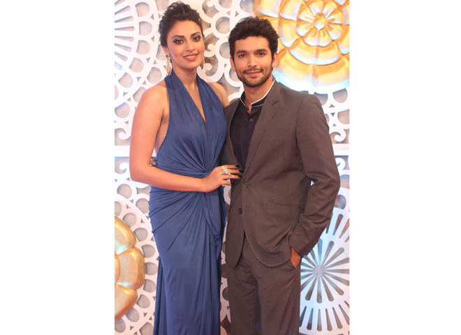 Anushka Ranjan and Diganth Manchale