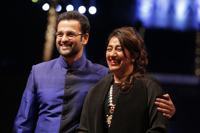 Rohit Roy with Founder of BETI, Ms. Anu Ranjan
