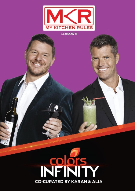 GR8! TV Magazine - Colors Infinity premieres My Kitchen Rules on 9th Feb