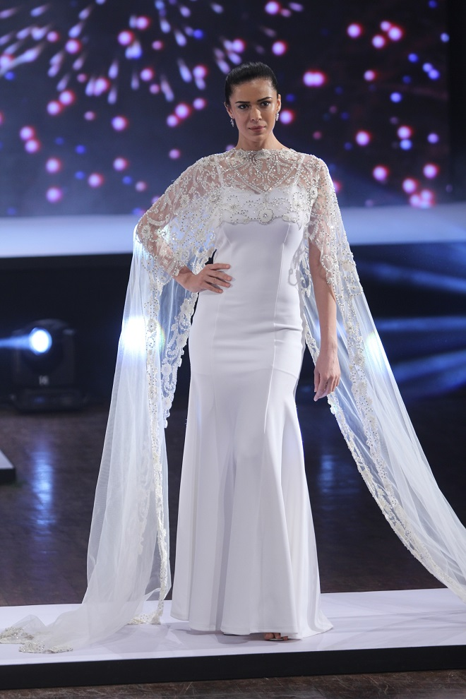 Model Sucheta Sharma walking the ramp
